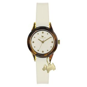 Radley London Watch It! Ladies' Cream Silicone Strap Watch - Product number 8048509