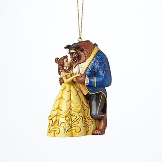 Disney Traditions Beauty and the Beast Hanging Ornament - Product number 8048630