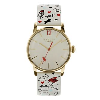 Radley London Sugar & Spice Ladies' Grey Leather Watch - Product number 8048665