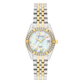 Citizen Ladies' Two Tone Steel Bracelet Watch - Product number 8048746