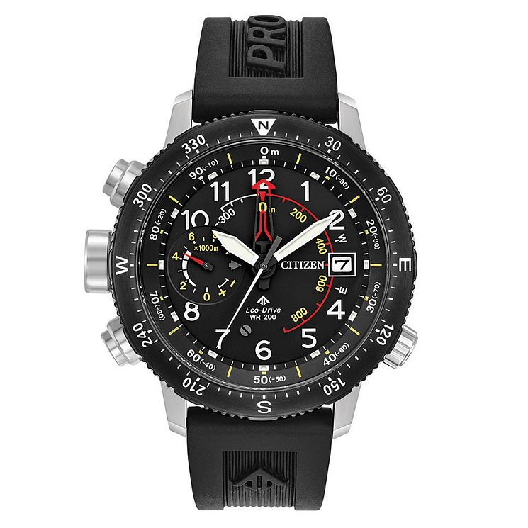 Citizen Promaster Altichron Men's Black Strap Watch - Product number 8048878