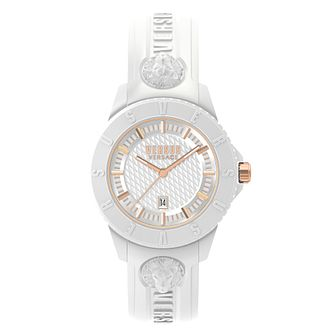 Versus Versace Tokyo R White Strap Watch - Product number 8049289