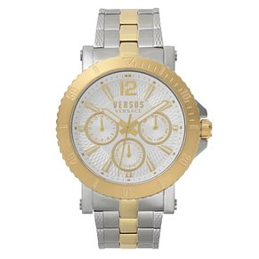 Versus Versace Steenberg Men's Two Tone Bracelet Watch - Product number 8049335