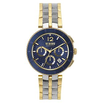 Versus Versace Men's Two Colour Chronograph Bracelet Watch - Product number 8049351