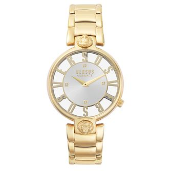 Versus Versace Kirstenhof Ladies' Gold Tone Bracelet Watch - Product number 8050082