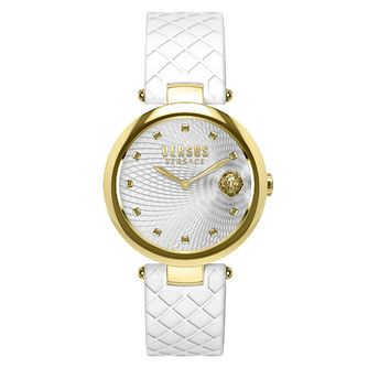Versus Versace Buffle Bay Ladies' White Strap Watch - Product number 8050333
