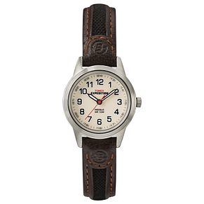 Timex Expedition Ladies' Leather & Fabric Strap Watch - Product number 8052549