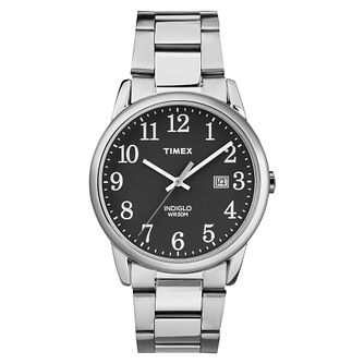 Timex Men's Easy Reader Stainless Steel Bracelet Watch - Product number 8053855