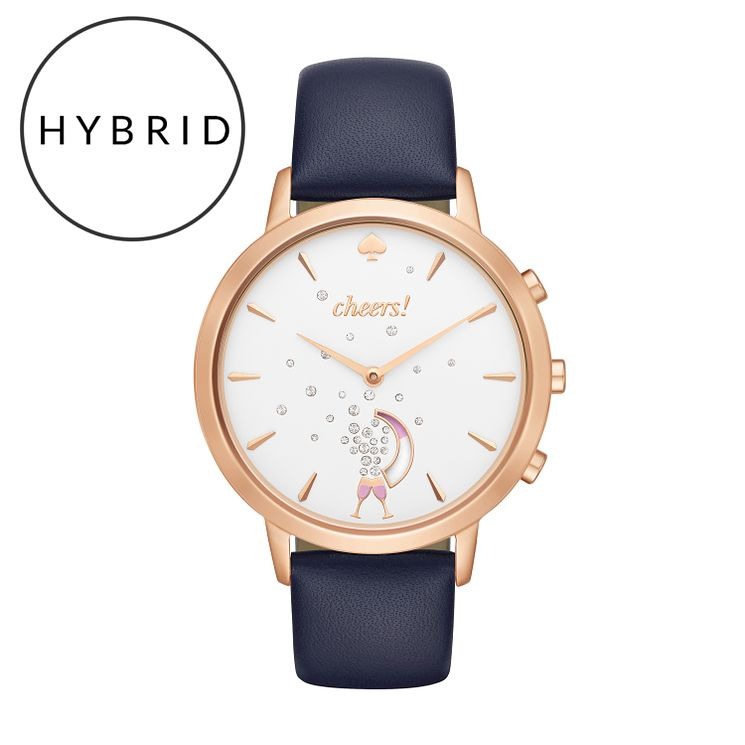 Kate Spade Ladies' Rose Gold Tone Strap Hybrid Smartwatch - Product number 8055084