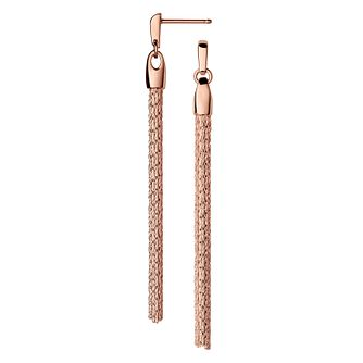 Links of London Essentials Rose Gold Plated Drop Earrings - Product number 8056218
