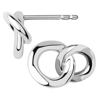 Links of London 2020 Ladies' Silver Mini Stud Earrings - Product number 8056234