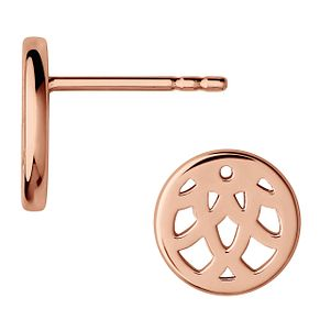Links of London Timeless Ladies' Rose Gold Plated Earrings - Product number 8056250