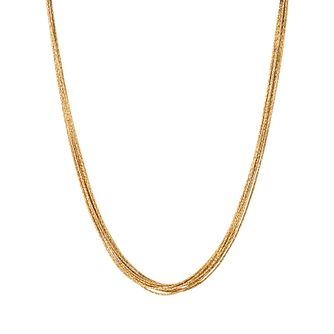 Links of London Essentials Ladies' Gold Plated Necklace - Product number 8056277