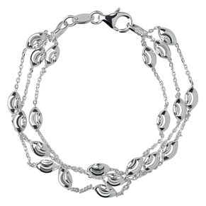 Links of London Essentials Sterling Silver Beaded Bracelet - Product number 8056404
