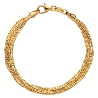 Links of London Essentials Ladies' Gold Plated Bracelet - Product number 8056455