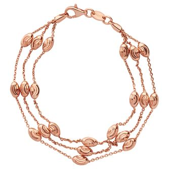 Links of London Essentials Rose Gold Plated Bead Bracelet - Product number 8056498