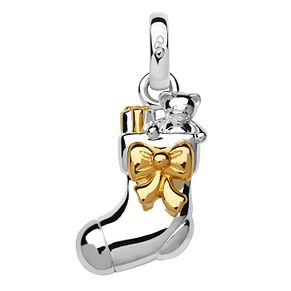 Links of London Gold & Silver Plated Christmas Stock Charm - Product number 8056633