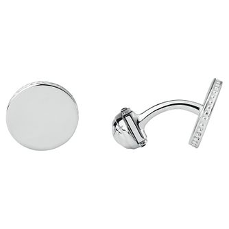 Links of London Narrative Men's Silver Cufflinks - Product number 8056722