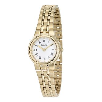 Accurist Ladies' Gold-Plated Watch - Product number 8061467