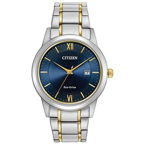 Citizen Men's Eco-Drive Stainless Steel Bracelet Watch - Product number 8063931