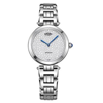 Rotary Kensington Crystal Ladies' Stainless Steel Watch - Product number 8070539