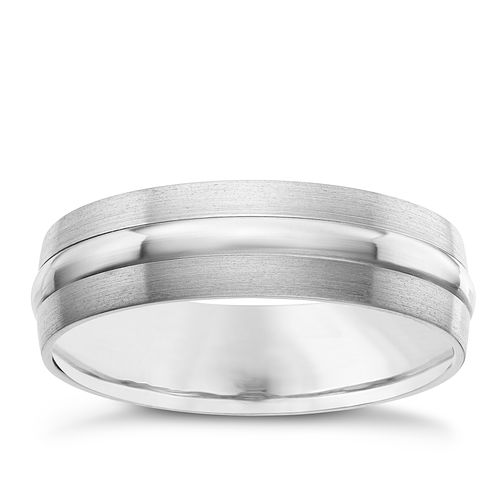 Titanium Matt and Polished Double Groove Band - Product number 8072639