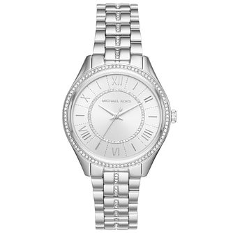 Michael Kors Lauryn Ladies' Stainless Steel Stone Set Watch - Product number 8080526