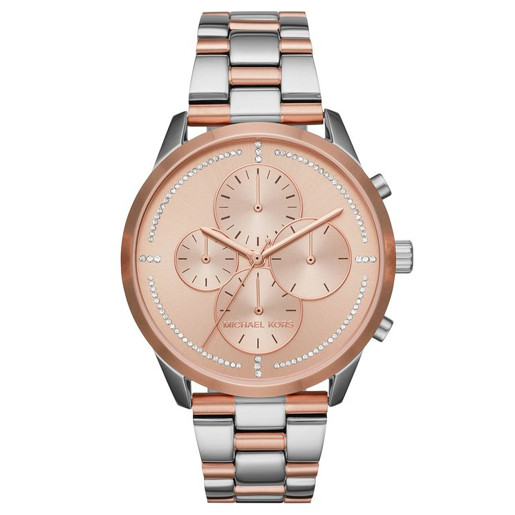 Michael Kors Slater Ladies' Two Colour Bracelet Watch - Product number 8080542