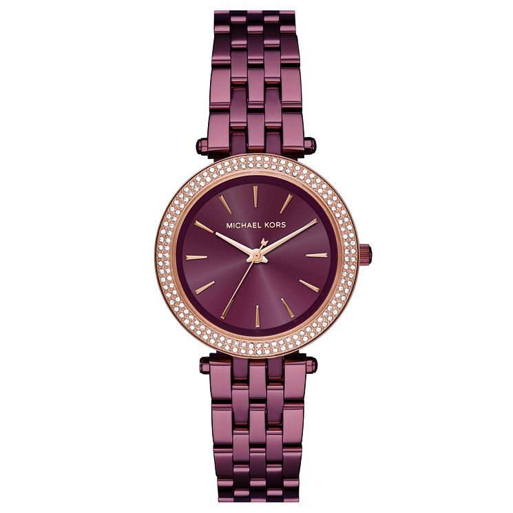 Michael Kors Darci Ladies' Ion Plated Purple Bracelet Watch - Product number 8080615