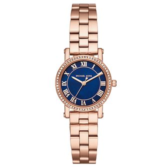 Michael Kors Norie Ladies' Rose Gold-Tone Bracelet Watch - Product number 8080674