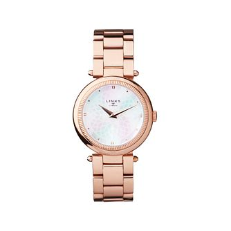 Links of London Timeless Ladies' Rose Gold Plated Watch - Product number 8080852