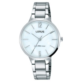 Lorus Ladies' Stainless Steel Bracelet Watch - Product number 8081417