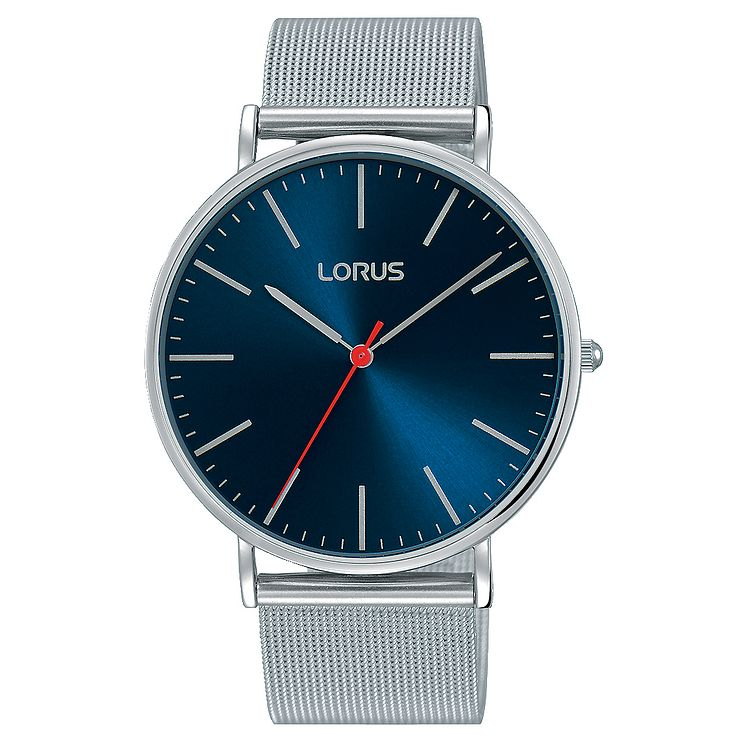 Lorus Men's Stainless Steel Mesh Bracelet Watch - Product number 8081433