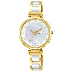 Pulsar Ladies' Two Colour Bracelet Watch - Product number 8081514