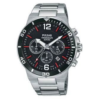 Pulsar Men's Stainless Steel Chronograph Bracelet Watch - Product number 8081611