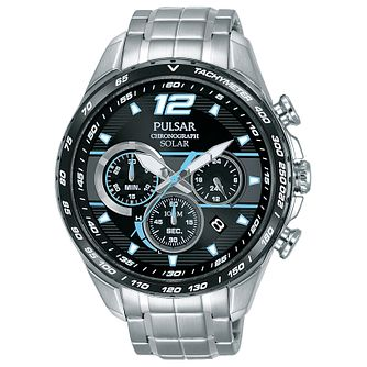 Pulsar Men's Stainless Steel Chronograph Bracelet Watch - Product number 8081654