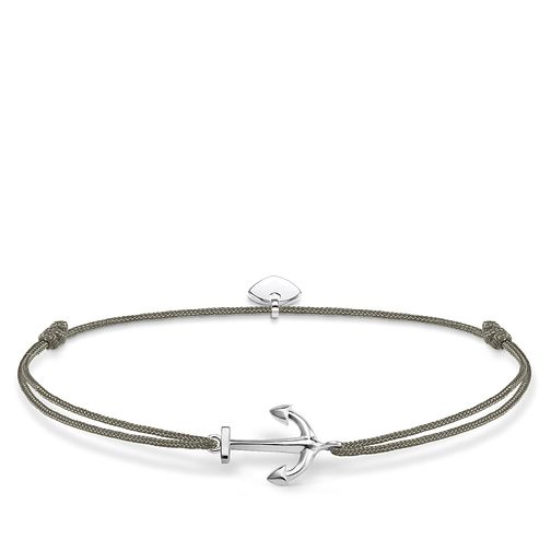 Thomas Sabo Little Secrets Silver Anchor Grey Bracelet - Product number 8081670