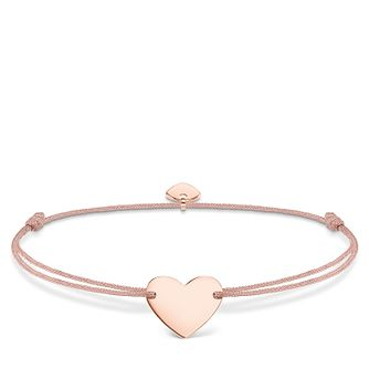 Thomas Sabo Little Secrets Rose Gold-Plated Heart Bracelet - Product number 8081719