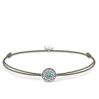 Thomas Sabo Little Secrets Silver Ethno Amulet Grey Bracelet - Product number 8081891
