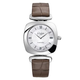 Glashutte Pavonina Ladies' Mother of Pearl Strap Watch - Product number 8084262