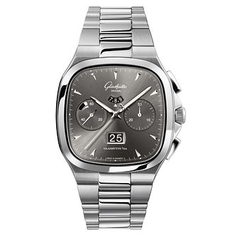 Glashutte Vintage Seventies Men's Grey Chronograph Watch - Product number 8084440
