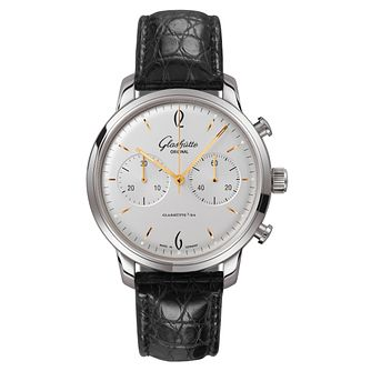 Glashutte Vintage Sixties Men's Chronograph Strap Watch - Product number 8084467