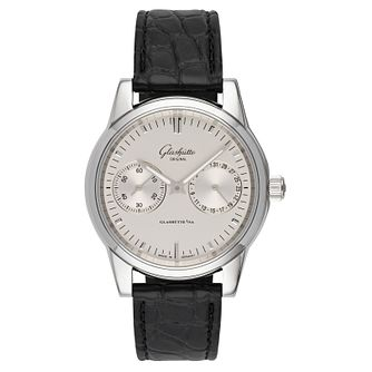 Glashutte Senator Men's Chronograph Black Strap Watch - Product number 8084483