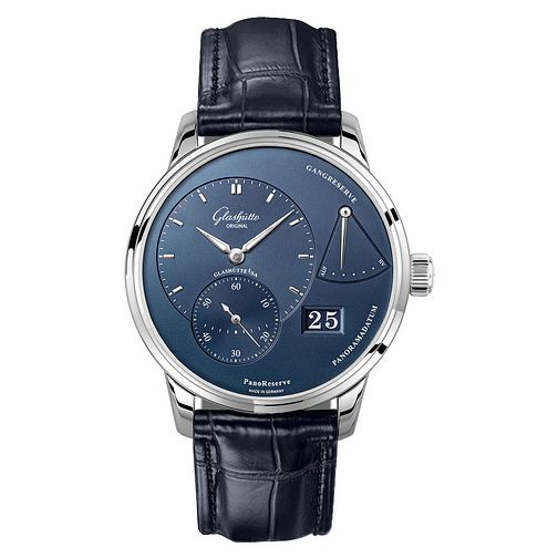 Glashutte PanoReserve Men's Blue Chronograph Watch - Product number 8084521
