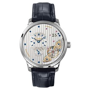 Glashutte Pano Men's Chronograph Skeleton Strap Watch - Product number 8084602