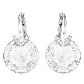 Swarovski Bella Rhodium Plated Large Drop Earrings - Product number 8085285