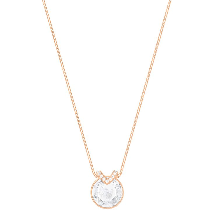 Swarovski Bella Rose Gold Plated Pendant - Product number 8085366