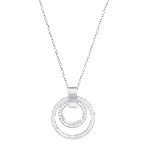 Swarovski Hollow Rhodium Plated Large Pendant - Product number 8085390