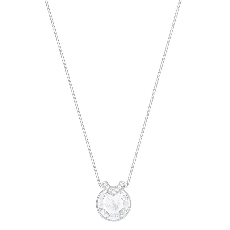 Swarovski Bella Rhodium Plated Pendant - Product number 8085420