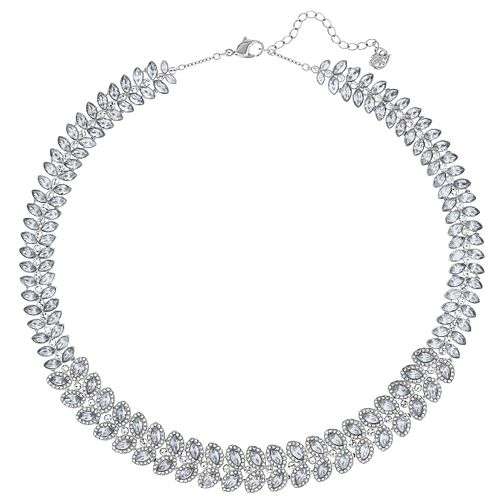 Swarovski Baron Rhodium Plated Collar Necklace - Product number 8085854